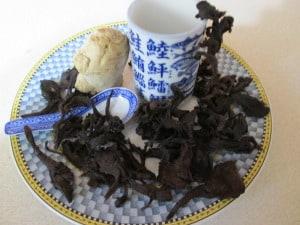 Maitake jerky